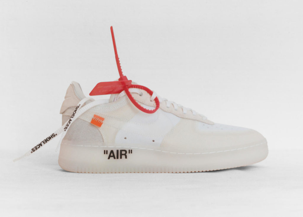 Off-White x Nike Air Force 1 - The Ten