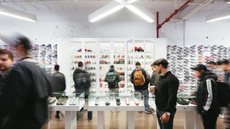 Resell de sneakers