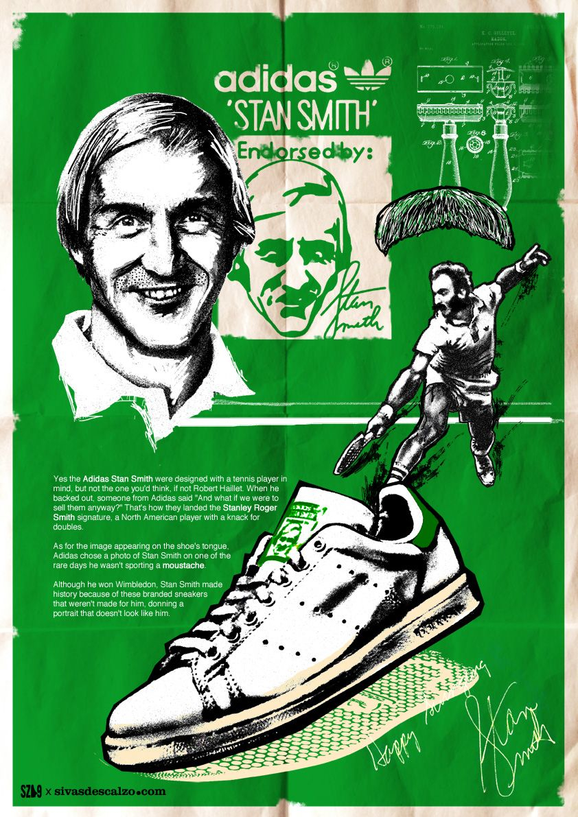 adidas - Endorsed by Stan Smith
