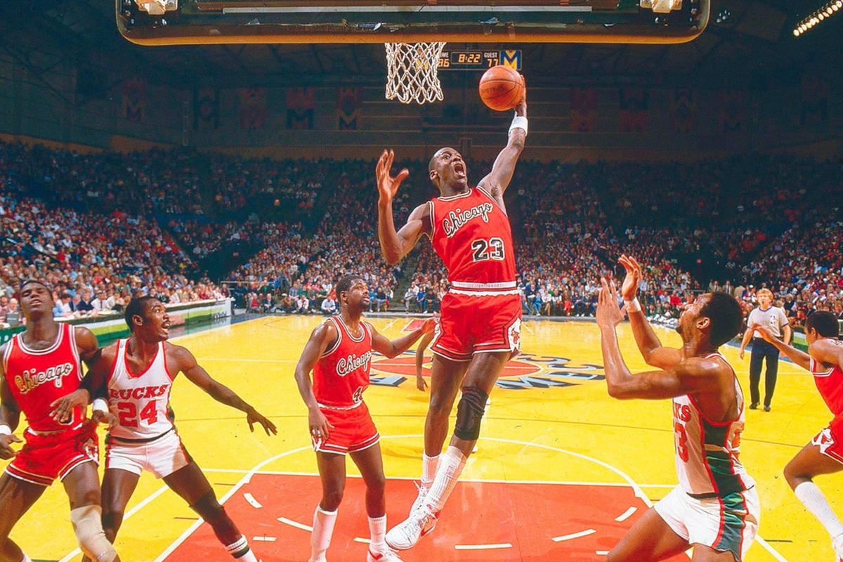 Michael Jordan - Nike Air Ship - 1984