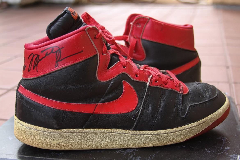 """Nike Air Ship """"Bred"""" - 1984"""