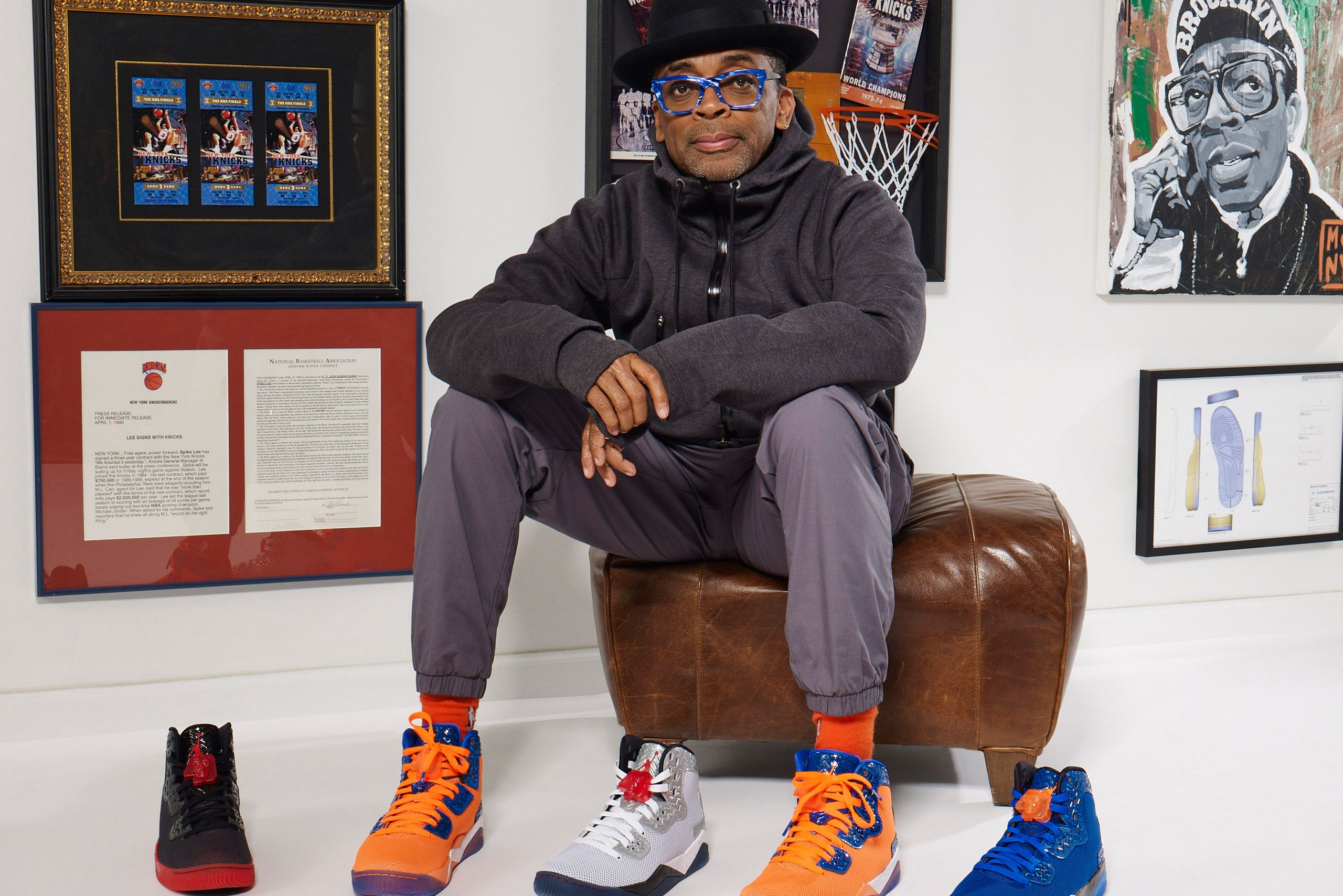 Spike Lee et son modèle préféré : la Air Jordan 4
