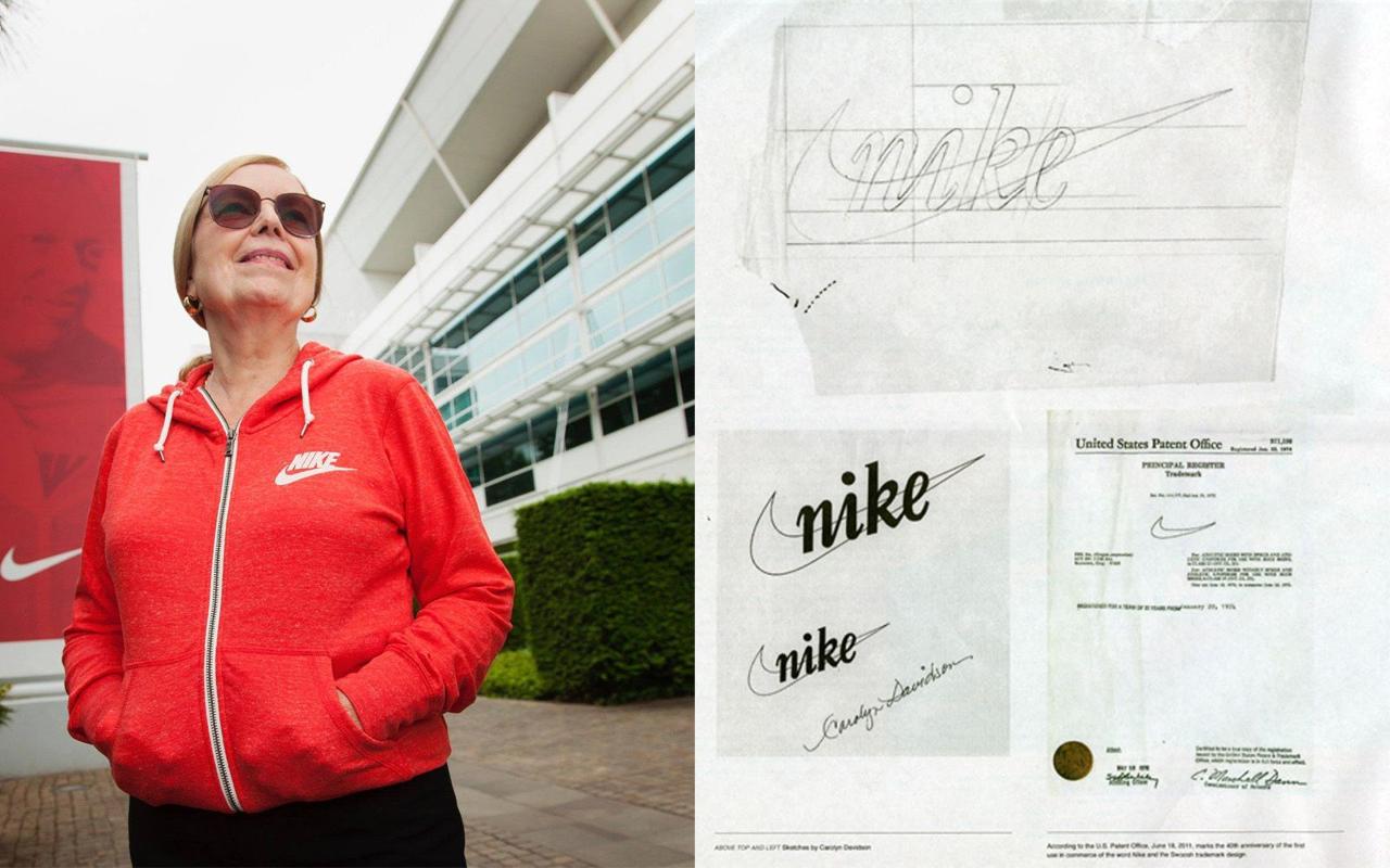Carolyn Davidson - Histoire du logo Nike