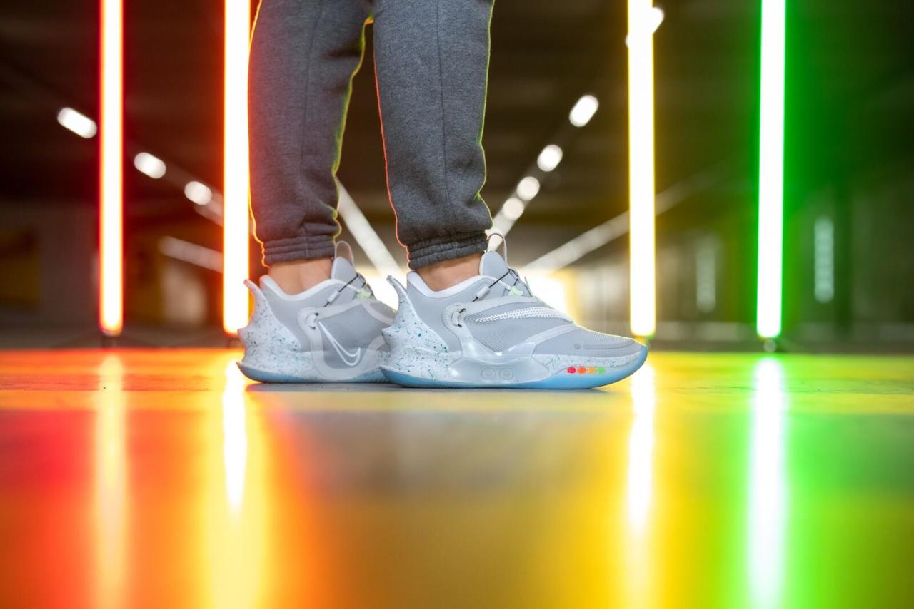 Nike Adapt BB 2.0 Wolf Grey