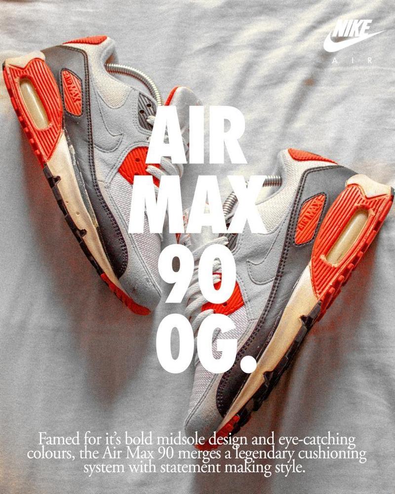 Nike Air Max 90 OG Infrared