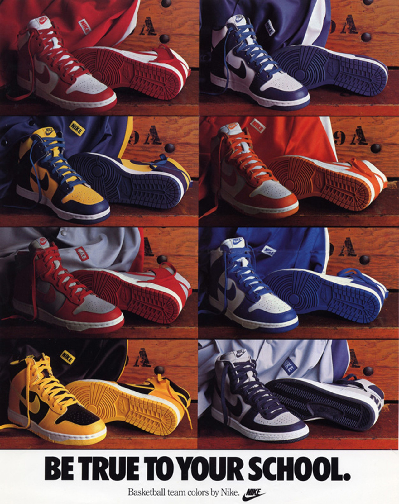 Nike Dunk - Be True To Your School