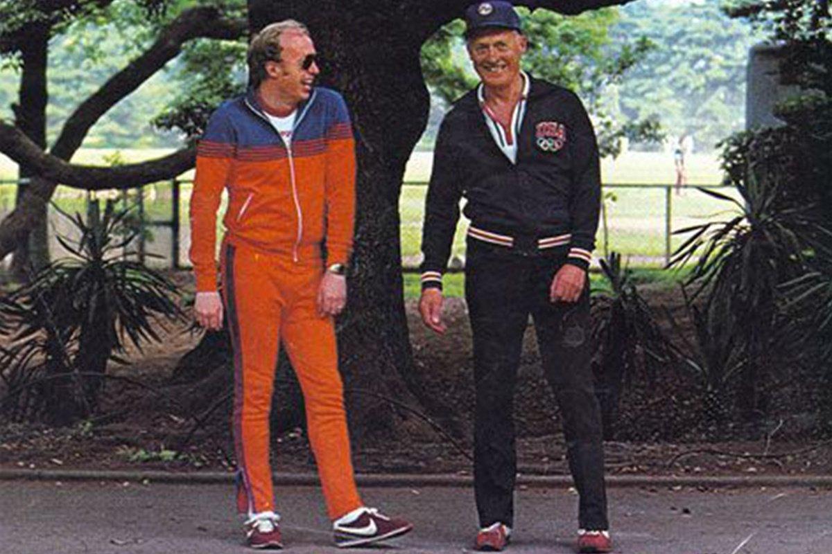 Phil Knight et Bill Bowerman